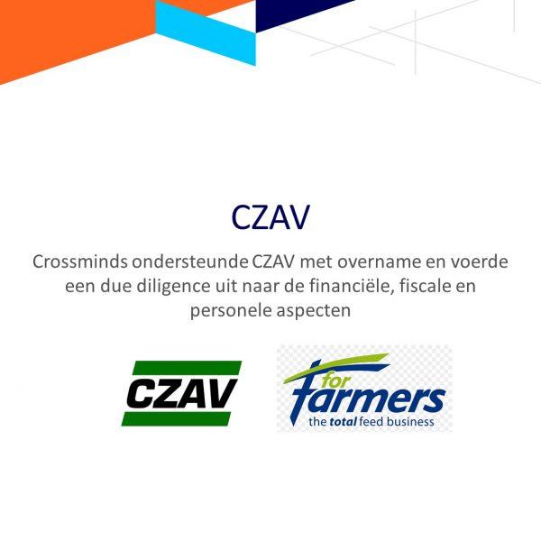 Crossminds begeleidde CZAV bij de overname van de akkerbouwactiviteiten van ForFarmers Nederland