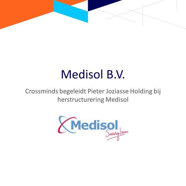 Crossminds begeleidde Pieter Joziasse Holding bij herstructurering Medisol
