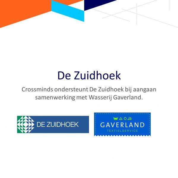 Crossminds ondersteunt De Zuidhoek bij aangaan samenwerking met Wasserij Gaverland