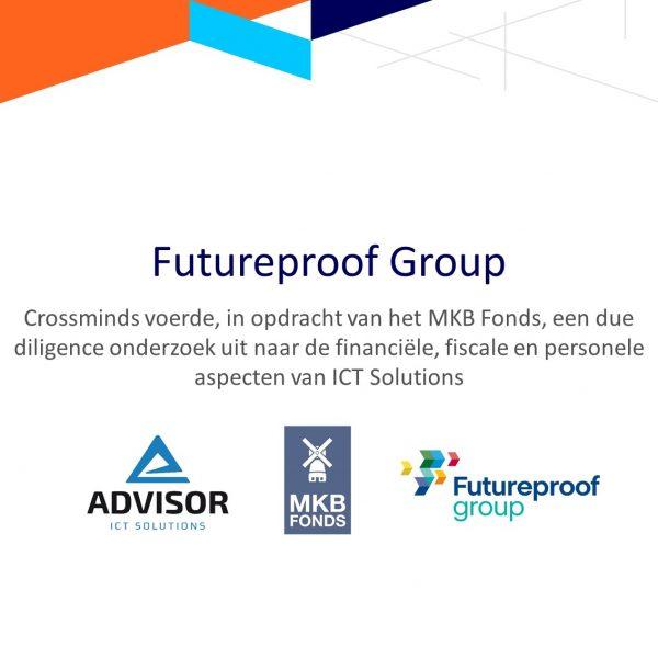Futureproof Group neemt aandeel in Advisor ICT Solutions