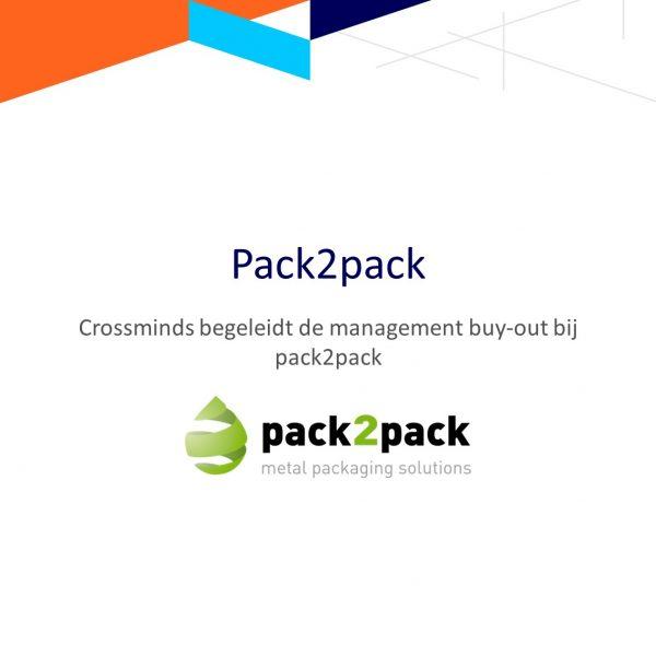 Crossminds begeleidde de management buy-out bij pack2pack