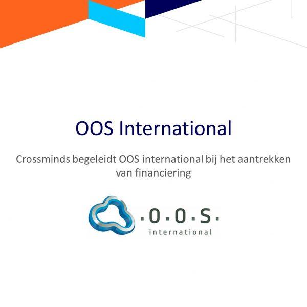 Crossminds begeleidde OOS International bij het aantrekken van financiering
