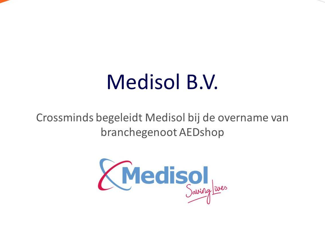 Medisol neemt branchegenoot AEDshop over