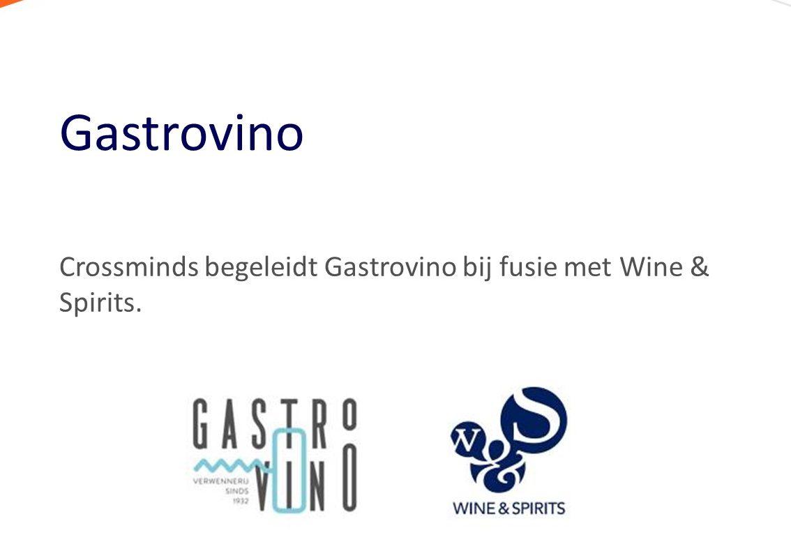 Begeleiding Gastrovino bij fusie met Wine & Spirits
