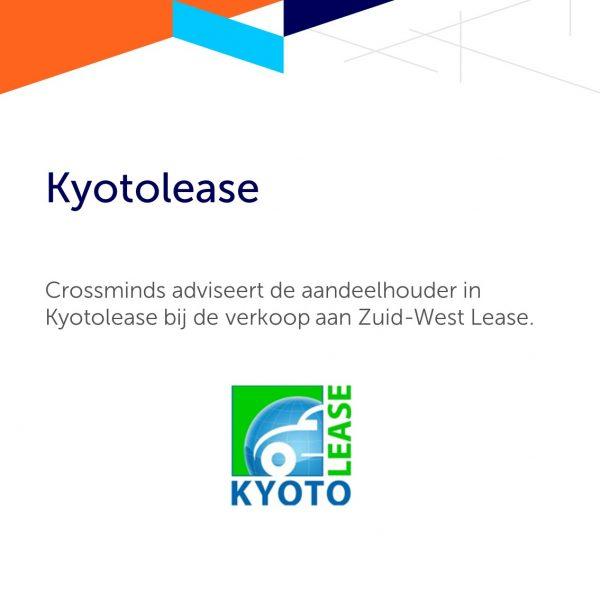 Crossminds adviseert de aandeelhouder in Kyotolease