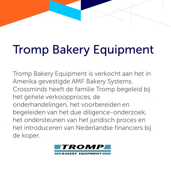 Tromp Bakery Equipment