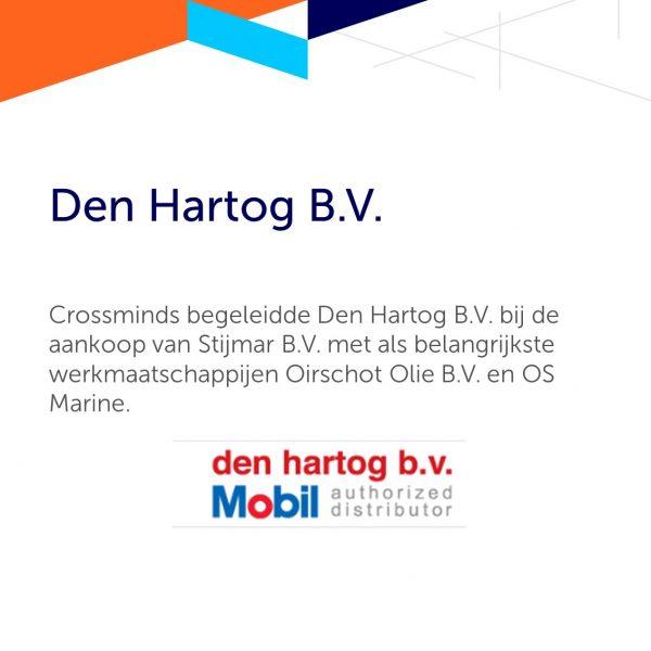 Overname Stijmar B.V door Den Hartog B.V.