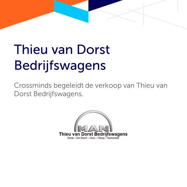 Crossminds begeleidt de verkoop van Thieu van Dorst Bedrijfswagens