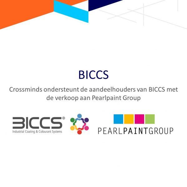 Crossminds ondersteunt de aandeelhouders van BICSS met de verkoop aan PearlPaint Group