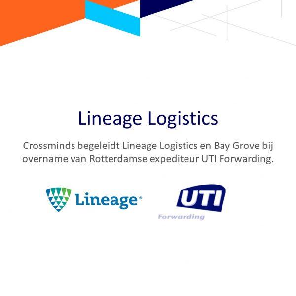 Crossminds begeleidt Lineage Logistics en Bay Grove bij overname van Rotterdamse expediteur UTI Forwarding