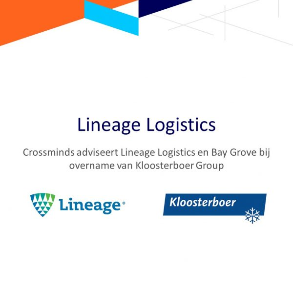 Lineage Logistics neemt kloosterboer group over