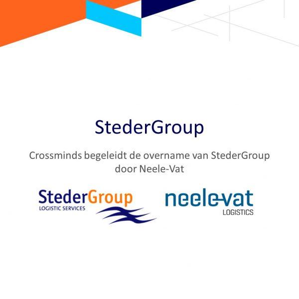 Crossminds begeleidt de overname van Steder Group door Neele-Vat